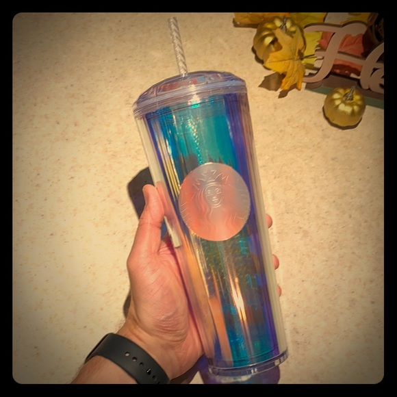 Starbucks Other - Iridescent Starbucks Tumbler